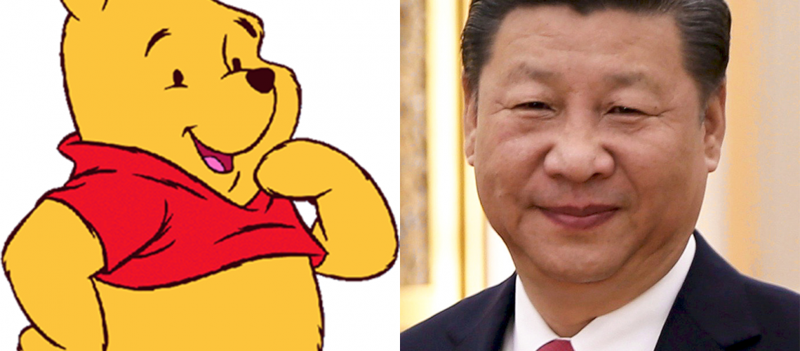 Winnie the Pooh film has been banned in China